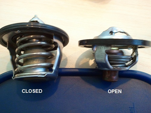Open Vs Closed Thermostat